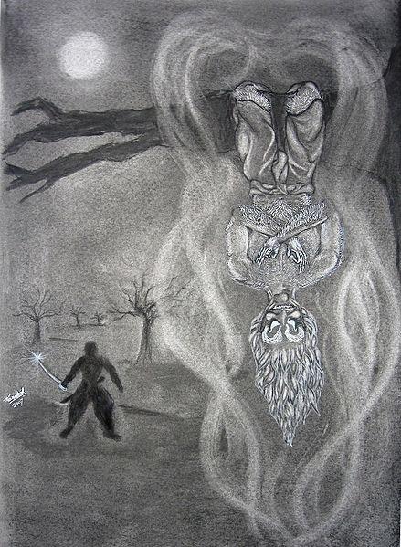Вэтала - демоны-вампиры из древреиндийской мифологии